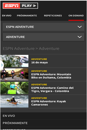 espn play on android