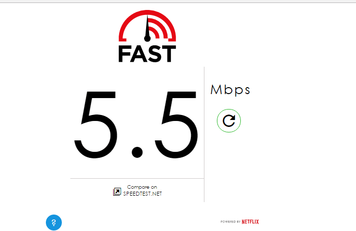 blockless speed test