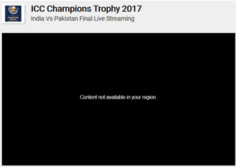 How to Watch Pakistan vs India ICC Champions Trophy Final 2017
