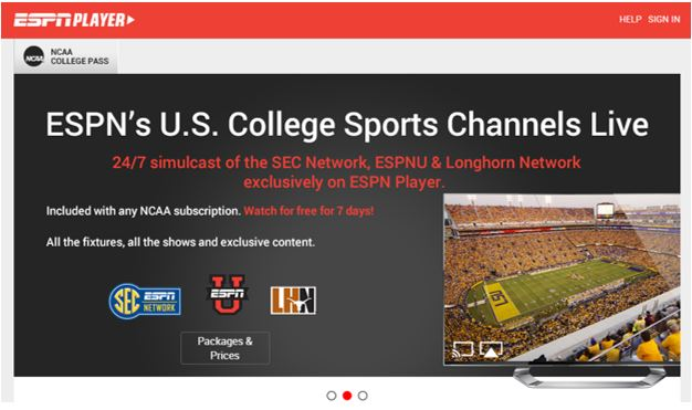 How to Watch NCAA Football in Europe